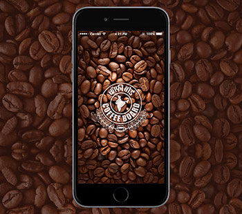 Coffee board App, App Design