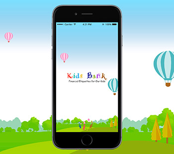 Kids Bank App, App Design