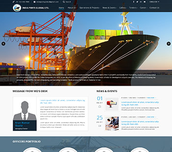 Port Website, Website Design