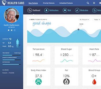 Health Care, Website Design