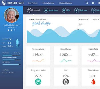Health Care, Website Design